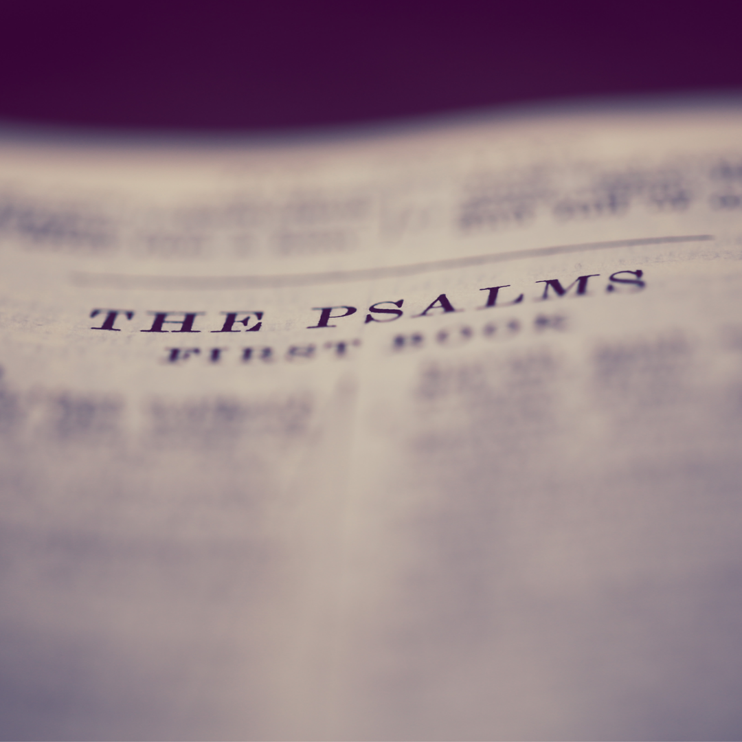 Shaking Off Some Lifelessness with the Psalms